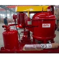 Aipu solids control vacuum degasser used in drilling fluid process system Manufactures