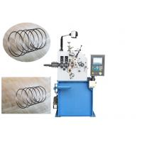 0.4 - 2.0mm Material Spring Wire MachineWith CNC Computer System And Cutting Tools Manufactures