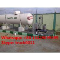 factory direct sale best quality CLW brand 8metric tons mobile skid lpg gas filling plant for refilling gas cylinders Manufactures