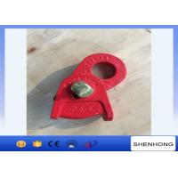 China Bolt Type Kitto Clamp Tightening Wire Rope 3 Ton Working Load on sale