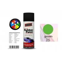 Abrasion Resistance Removable Rubber Spray Paint  Head Light Green Color For Car Coating Manufactures