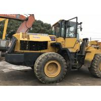 Buy cheap Komatsu WA320-5 Second Hand Wheel Loaders 2.7cbm Bucket Capacity Year 2011 from wholesalers
