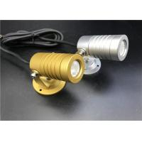 Buy cheap Golden And Silivery LED Garden Spotlights With Mounting Base Landscape Lighting from wholesalers
