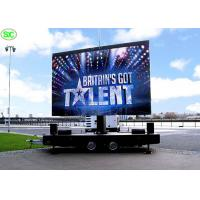 P5 full color Mobile Truck LED Display Advertising , Car LED Screen 5 years Warranty Manufactures