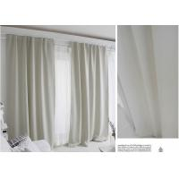 100% Polyester Blending Modern Window Curtains Multiple Colors Lightweight Fabric Manufactures