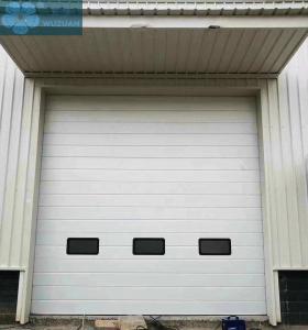 4000mm Height 550mm Panel Industrial Overhead Door Manufactures