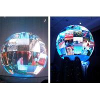 High Definition Indoor Sphere LED Display / 3D Full Color LED Ball Display FCC Listed Manufactures