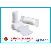 Patient Care Non Woven Gauze Swabs , Medical Gauze Roll Bandage Manufactures