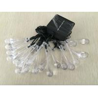 Outdoor 20 LEDS Christmas Decorative Solar String Lights 0.5W - 4W Manufactures