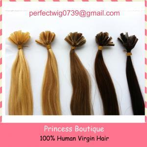 best price good quality pre-bonded keratin human hair extension nail hair /U-tip hair Manufactures