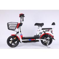 350 Watt Brushless Motor Folding Electric Bicycle With 48V 12Ah Removable Battery Manufactures