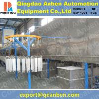 Aluminum electrostatic powder coating line Manufactures