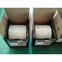 China Low Loss HDTV CATV Double RG6 Coaxial AUDIO Cable With ROSH Standard on sale
