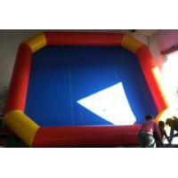 Outdoor 0.9mm PVC Tarpaulin Inflatable Family Pool For Relax Small Manufactures