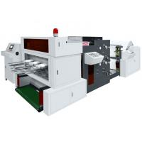 China 320times/min Paper Die Punching Machine , Flat Bed Die Punching Machine With Flexo Printer on sale