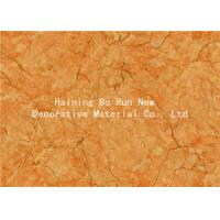 Yellow Pet Heat Transfer Film Hot Stamping Foil For Wall Panel Good Effect Manufactures