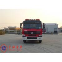 Max Speed 90KM/H Tanker Fire Truck , Heavy Rescue Fire Truck Wheelbase 4600mm Manufactures