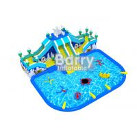 China Bear Slide Inflatable Water Park Air Kids Inflatable Playground With Water Toys on sale