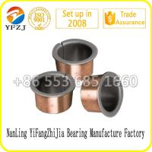 Quality Lead free du bushing Bi - metal casting bronze bushing with PTFE for sale
