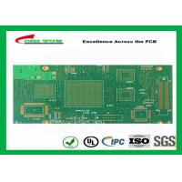 Green Htg 12 Layer FR4 PCB Printed Circuit Board 3.8mm Thickness Manufactures