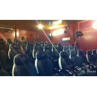 Comfortable Patent Chairs 7D Movie Theater Indoor Customized Logo Manufactures