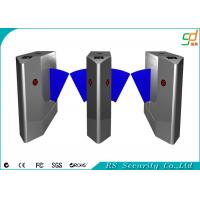Retractable RFID Card Reader Flap Barrier Gate Alarm Flap Barrier Manufactures