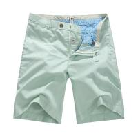 Color Autumn mens cotton shorts / mens walking shorts customized Manufactures