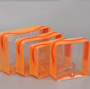 Heat Seal Soft EVA Cosmetic Bag , Multi Functional Square Cosmetic Bag Manufactures