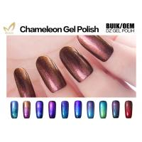 Quality Easy Soak Off Clear Gel Nail Polish , Gel Colour Changing Nail Polish No Buble for sale