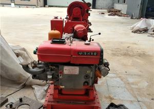 Professional Soil Drilling Rigs , GK200 Mobile Borehole Drilling Machine Manufactures