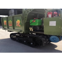 Multi Functional Crawler Type Track Transporter Strong Ability To Climb Slope Manufactures