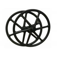 Quality 30MM*30MM Carbon 6 Spoke Wheels , 26 Mountain Bike Wheels Clincher With Novatec for sale