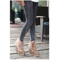 2012 New Slope Thick Rabbit Hair Short High Heel Shoes Manufactures