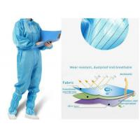Antivirus Disposable Medical Protective Clothing , Medical Protective Coverall Manufactures