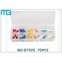 Buy cheap 70PCS  Terminal Assortment Kits for  FDD Quick Disconnects with avarious colors ,CE certificated from wholesalers