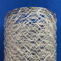 Polyster Hexagonal Chicken Wire Netting for River / Gabion Wire Mesh Manufactures