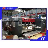 High Speed Carton Printing Machine Flexo Slotting For Corrugated Box Manufactures