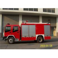 Quality 220V Lighting System Fire Chief Vehicle , 25L Fuel Tank Capacity Incident for sale