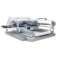 Full Automatic Glass Edging Machine With Film Removing Device , 0-8m / Min Manufactures