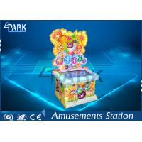 Lovely Design Coin Operated Hammer Game Machine With Colorful Light Box Manufactures