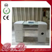 Buy cheap Beauty Nail Salon Equipment Wholesale Nail Manicure Table with Vacuum Cheap Manicure Station from wholesalers
