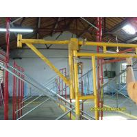 Heavy Duty Scaffolding Frames With Powder Coated Side Brackets 1524x1524xΦ42x2.3mm Manufactures