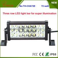 Super bright IP67 waterproof Three row LED light bar for ATV,SUV,UTV,truck,fork lift,train Manufactures