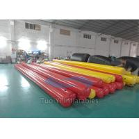 Water Sports Games Inflatable Buoys Long Tube Swimming Area Buoy Manufactures