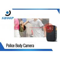 Lightweight Police Body Worn Camera With Night Vision 1296P GPS Manufactures