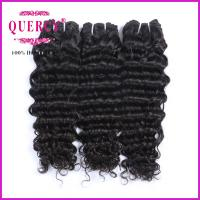 Top Quality 100% Human Hair Brazlian Deep Wave 8A Unprocessed Wholesale Virgin Brazilian Hair Manufactures