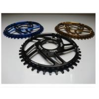 7075-T6 Aluminum Color Anodized Race Face 104mm Single Chain Ring 4mm Plate Thickness Manufactures