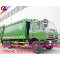 hot sale best price dongfeng 4*2 LHD 18cbm compactor garbage truck. factory sale dongfeng 16m3 garbage compactor truck Manufactures