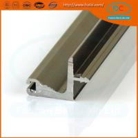 China Customed colors of  aluminum G  profile, extrusion aluminum profile, aluminum champage profile on sale