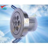 High brightness white / yellow 7W 350mA 50 - 60HZ IP50 led down light fixtures Manufactures